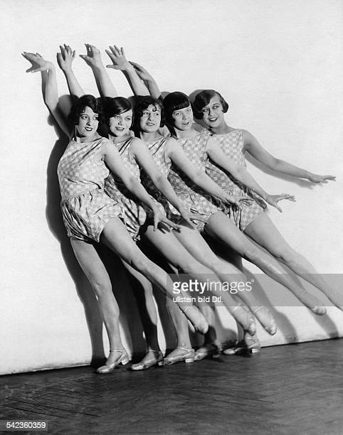 Germany Free State Prussia Berlin Berlin Revue girls The TillerGirls at a dance competition in the Berliner Sportpalast 1928 Photographer Laszlo...