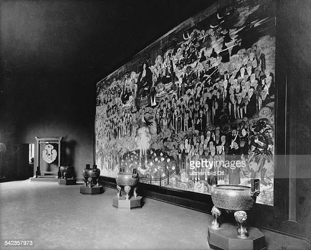Germany Free State Prussia Berlin Berlin The ethnological museum at the former place in the Martin Gropius Bau The East Asiatic Department about 1926...