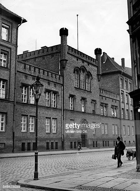 Germany Free State Prussia Berlin Berlin The gate to the women's prison in the Barnimstrasse ca 1936 Photographer Heinz Fremke Published by 'Das 12...