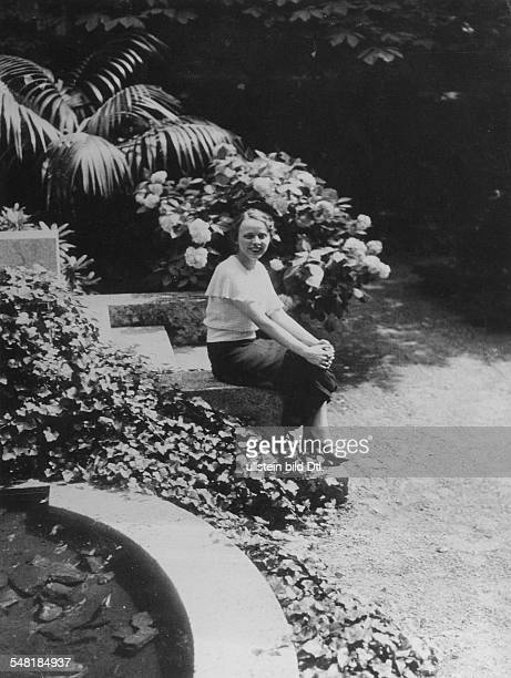 Germany Free State Prussia Berlin Martha Dodd * Journalist writer USA portrait as daughter of the USEmbassador to Nazi Germany William Dodd in the...