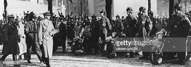 Germany Free State Prussia Brandenburg Province Berlin Hitler Adolf Politician NSDAP Germany Opening of the International Motor Show in the...