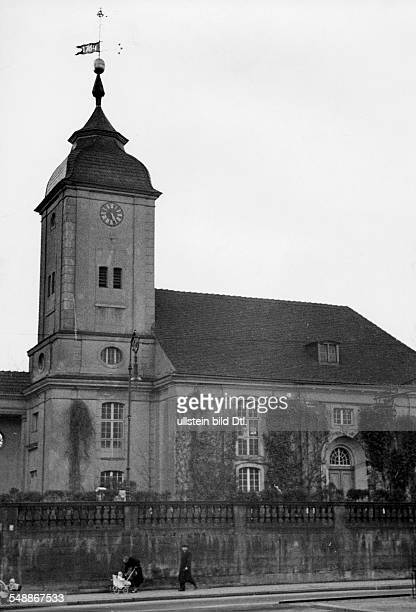 Germany Free State Prussia Brandenburg Province Berlin Schoeneberg's old village church at the Hauptstrasse build after the plans of Johann Friedrich...
