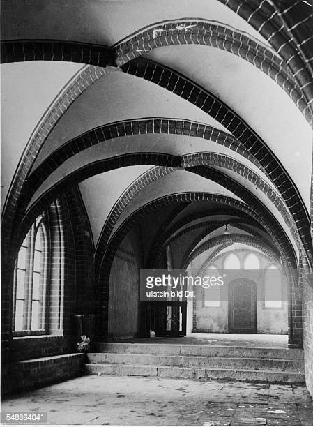 Germany Free State Prussia Brandenburg Province Brandenburg The cathedral St Peter and Paul cloister leading to the cathedral's archive Photographer...