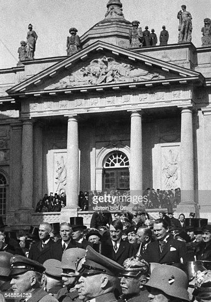 Germany Free State Prussia Brandenburg Province Potsdam: Third Reich , opening of the Reichstag, 'Day of Potsdam' : After finishing ceremonial act of...