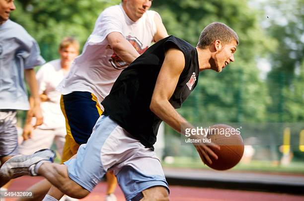 Germany: Free time.- Basketball match.