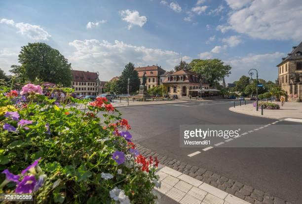 Germany, Fulda, view to Bonifatiusplatz with Boniface Monument