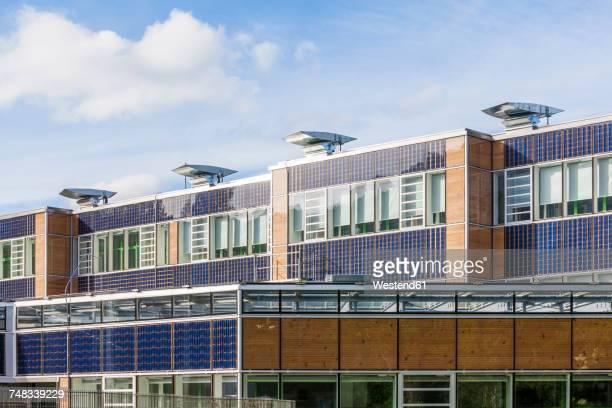 Germany, Geislingen an der Steige, energy efficient reconstruction of a school building