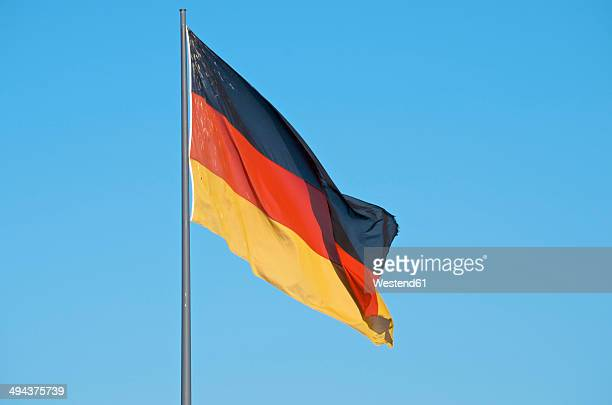germany, german flag - german flag stock pictures, royalty-free photos & images