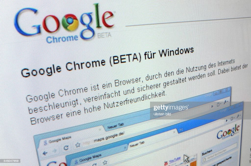 Google Chrome Browser - Beta Version News Photo - Getty Images