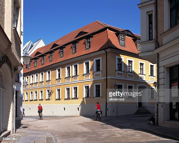 Germany Halle SaxonyAnhalt Haendel House birth house of the composer Georg Friedrich Haendel and museum