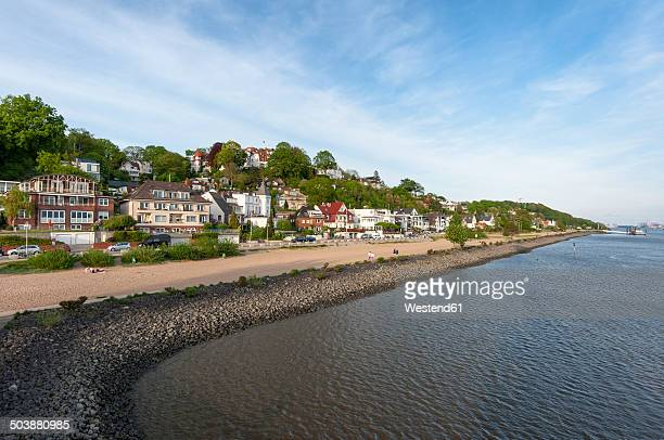 Germany, Hamburg, Bank of the Elbe river in Hamburg-Blankenese