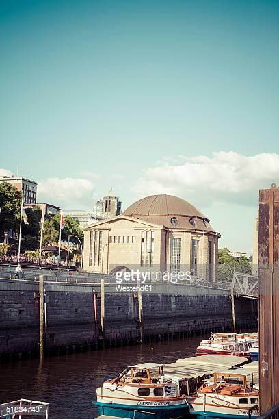 Germany, Hamburg, Entrance of old Elbe tunnel