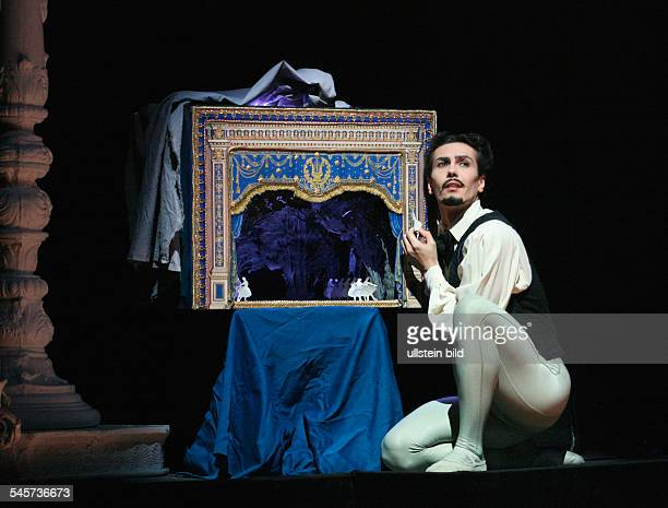 Germany Hamburg Hamburg Staasoper showing the ballet 'Illusions like Swan Lake' choreography John Neumeier dancer Alexandre Riabko