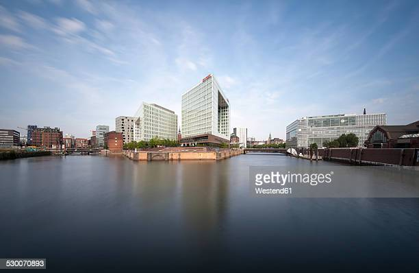 Germany, Hamburg, High-rise office building Ericusspitze, Publishing house Der Spiegel