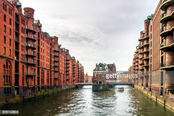 Germany, Hamburg, Speicherstadt, water castle