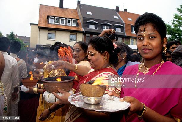 HinduTamils in Germany The annual temple celebration in and around the Sri Kamadschi Ambal Temple