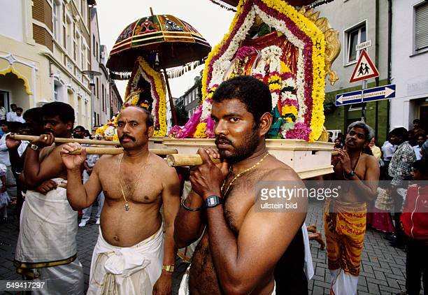 HinduTamils in Germany The annual temple celebration in and around the temple Sri Sithivinayagar Temple