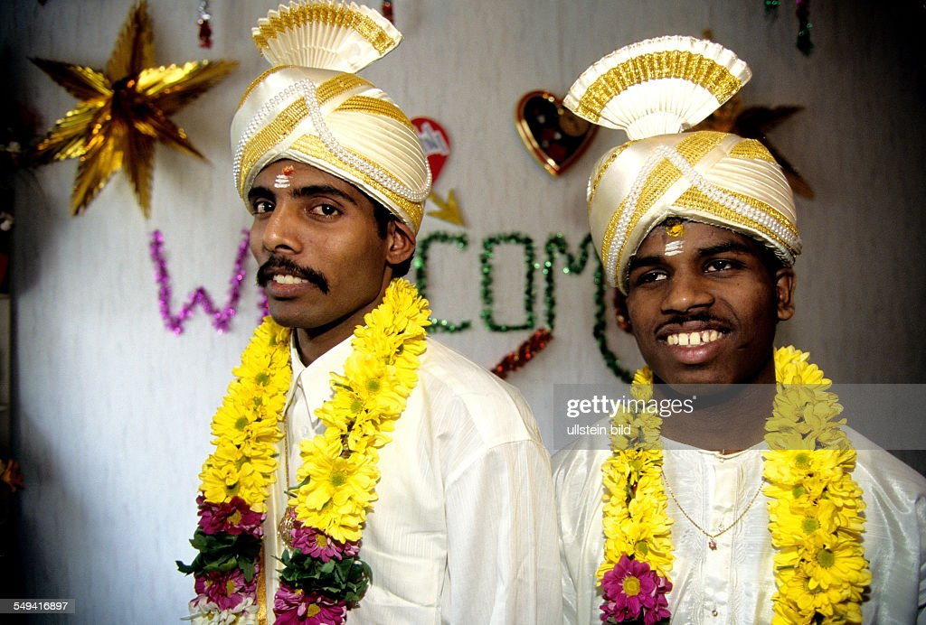Hindu-Tamils in Germany - Wedding preparation in the