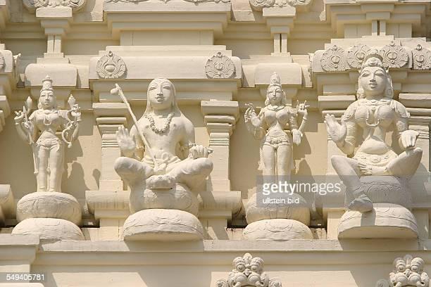 Hindu believer of the Sri Kamadchi Ampal temple