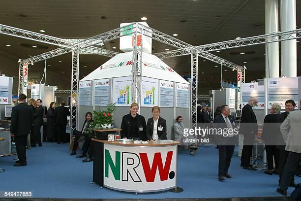Cebit The NRW stall