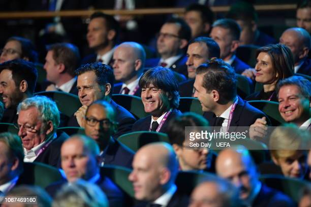 Germany head coach Joachim Low during the UEFA Euro 2020 Draw on December 2 2018 in Dublin Ireland