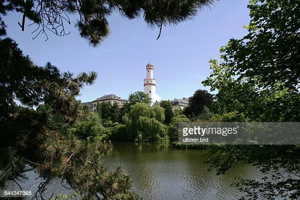 Germany, Hesse, Bad Homburg: Castle and park. 2006