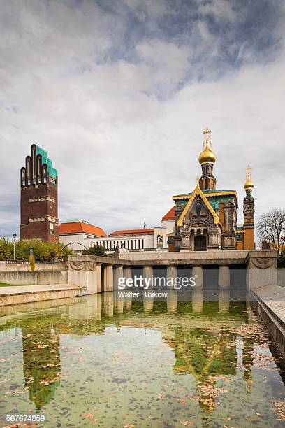 germany, hesse, exterior - darmstadt stock pictures, royalty-free photos & images