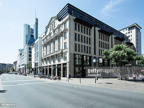 Germany, Hesse, Frankfurt, buildings at Goetheplatz and Rossmarkt