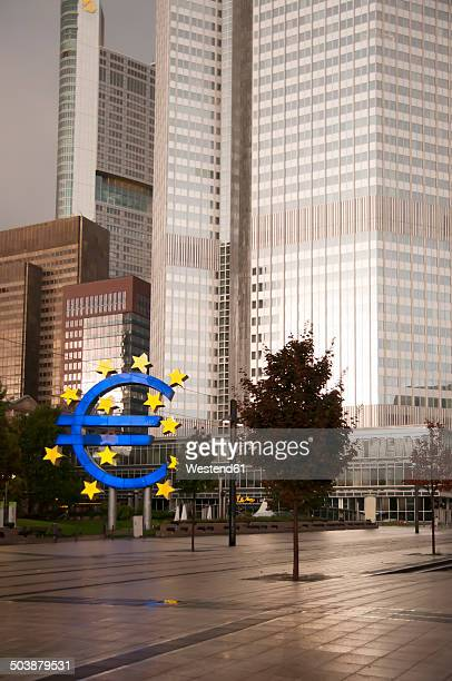 Germany, Hesse, Frankfurt, European Central Bank