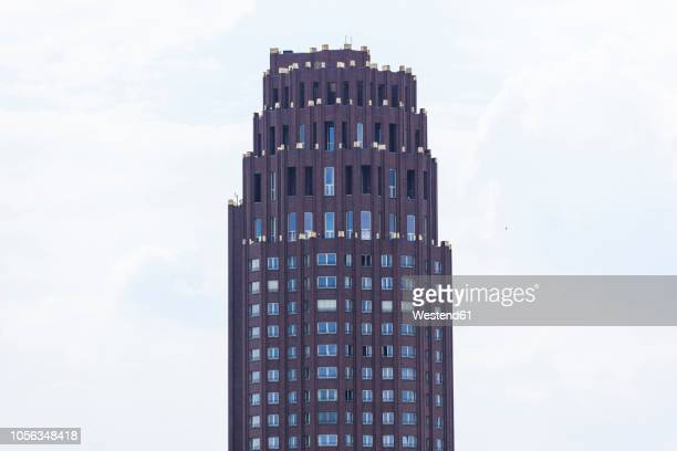 germany, hesse, frankfurt, main plaza - frankfurt main tower stock pictures, royalty-free photos & images