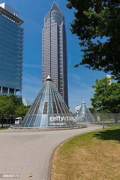Germany, Hesse, Frankfurt, Messeturm