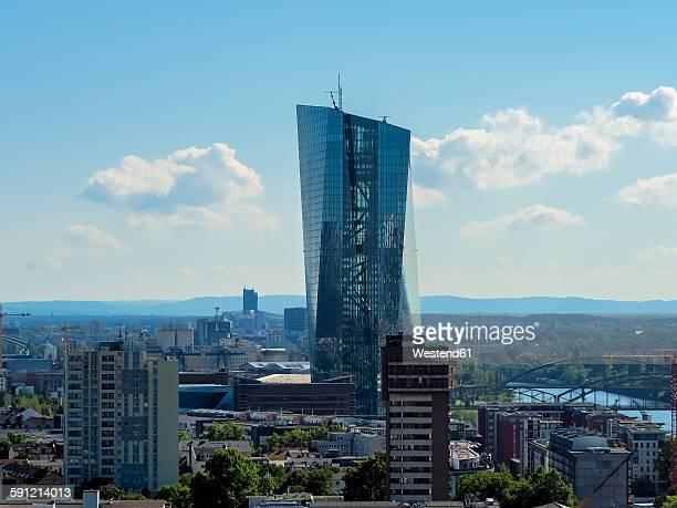 Germany, Hesse, Frankfurt, new European Central Bank
