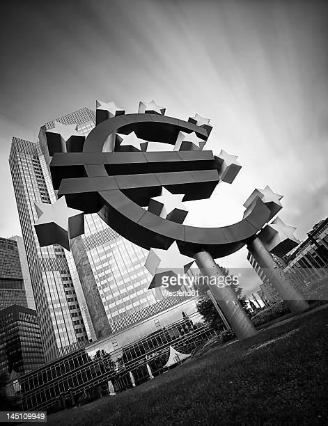 Germany, Hesse, Frankfurt, View of European Central Bank