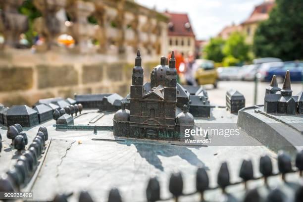 Germany, Hesse, Fulda, miniature of Fulda Cathedral