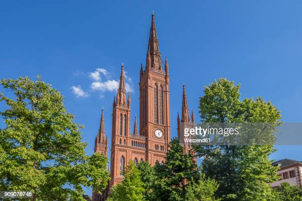 Germany, Hesse, Wiesbaden, Market Church