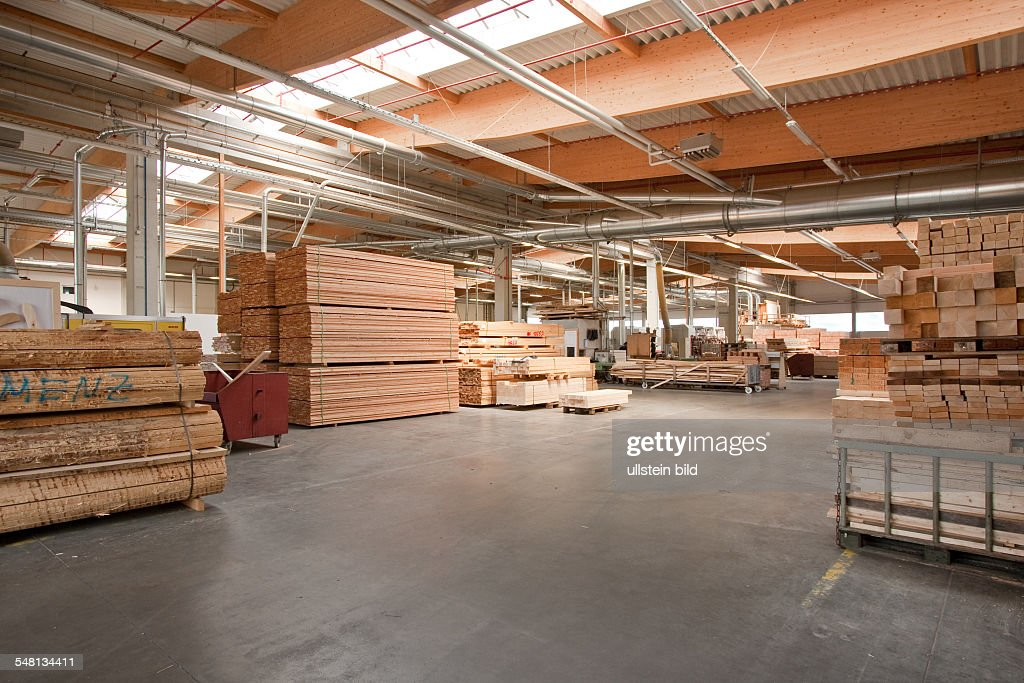 Holz Factory germany hesse wood yard in the factory of garden furniture