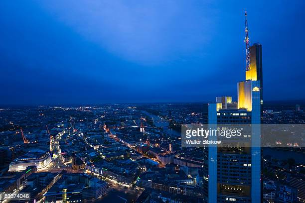 Germany, Hessen, Frankfurt-am-Main, view from the