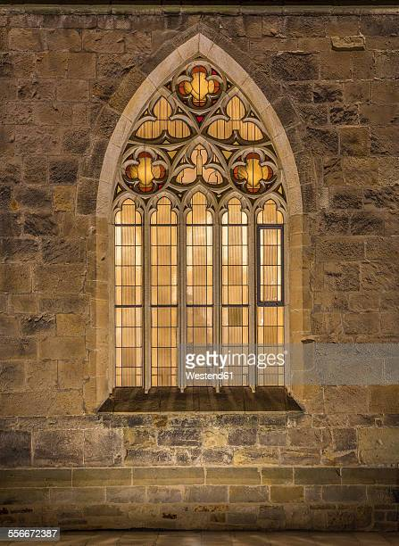 Germany, Hildesheim, cathedral, facade and window