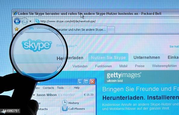 Skype id finden