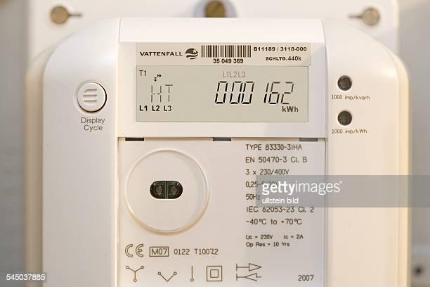 intelligent electric meter