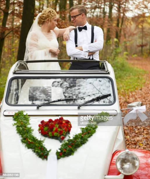 The 'duck' the nostalgia car here the version 'Dolly' the years 1949 to 1990 is used by young people today as a wedding car