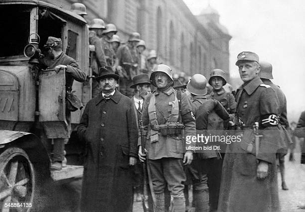 Germany Kingdom Bavaria Munich: Beer Hall Putsch: the city councils are being arrested by supporters of the national socialists - - Photographer:...
