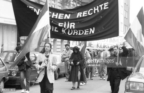 exiled Kurds demonstrated in 1988 against the use of poison gas and for selfdetermination in their homeland