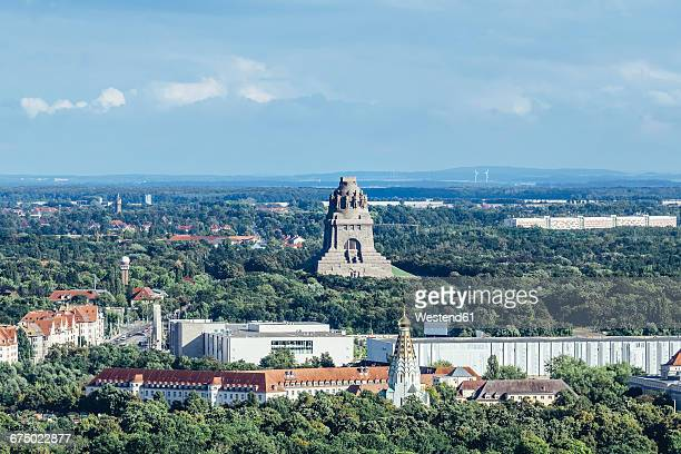 Germany, Leipzig, view to Monument to the Battle of the Nations