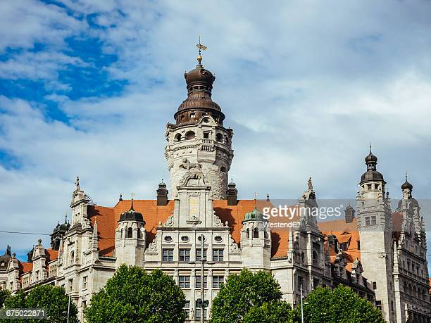 Germany, Leipzig, view to New City Hall