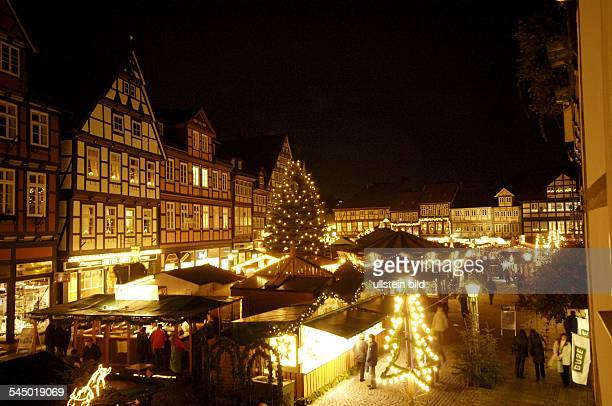Germany Lower Saxony Celle Christmas market