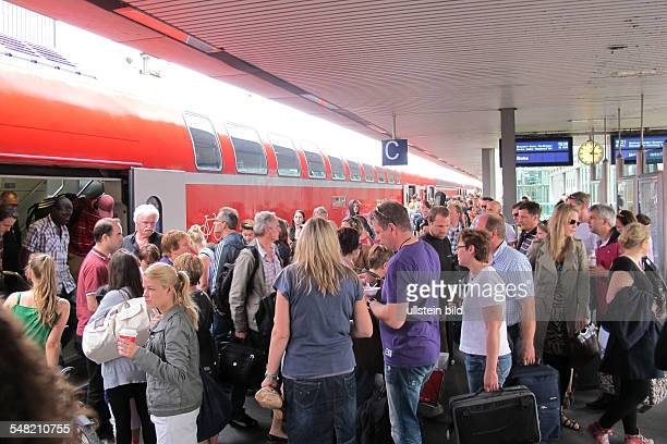 Germany Lower Saxony Hannover local train DB Regio central station