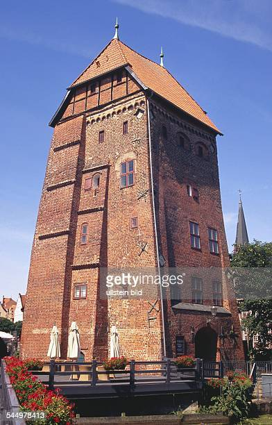 Germany - Lower Saxony - Lueneburg: Water tower of the abbey mill