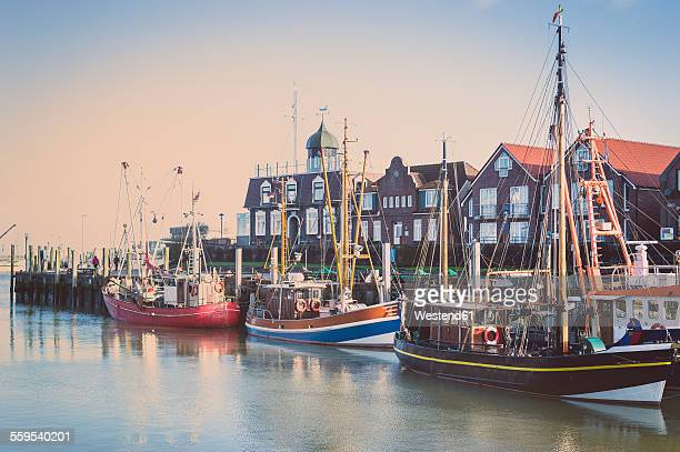 Germany, Lower Saxony, Greetsiel, fishing harbour