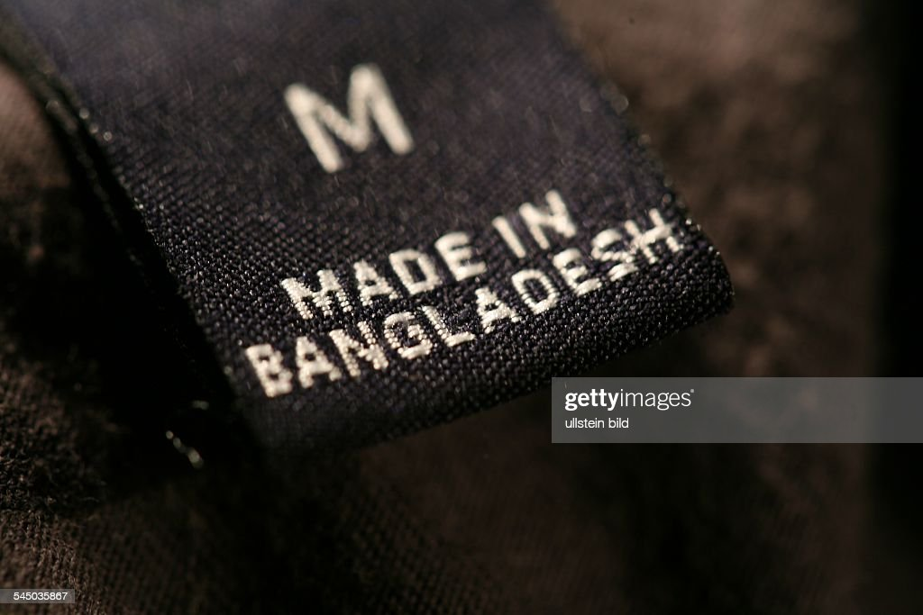 Made in Bangladesh at clothes News Photo - Getty Images